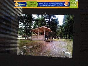 Radium Valley Vacation Resort Lot for Sale or Rent.