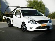 2010 Ford Falcon FG XR6 Turbo Ute Super Cab 50th Anniversary White 6 Speed Sports Automatic Utility Melrose Park Mitcham Area Preview