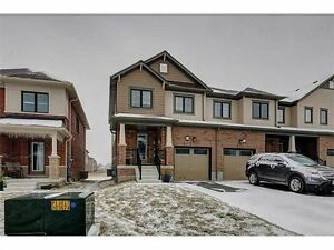 1 Year New, End Unit Townhome, Just Like Semi