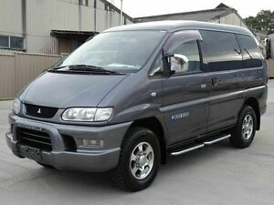 2005 Mitsubishi Delica Speacegear Series 3 High Roof Grey 4 Speed Automatic Wagon Taren Point Sutherland Area Preview