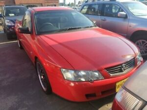 2003 Holden Commodore VY II Red 4 Speed Automatic Utility Granville Parramatta Area Preview