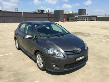 2010 Toyota Corolla ZRE152R MY10 Levin ZR Grey 4 Speed Automatic Hatchback