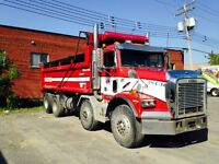Freightliner 2001-camion 12 roues