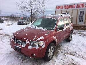 2005 FORD ESCAPE LIMITED - 4X4 - LOW KM - !!VALID E TEST!!