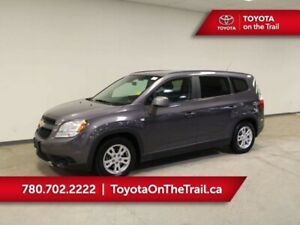 2012 Chevrolet Orlando LT; 7 PASSENGER, WINTER TIRES, BLUETOOTH,