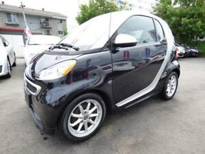 2014 SMART FORTWO ELECTRIC DRIVE PASSION (TOIT PANO, MAGS, FULL)
