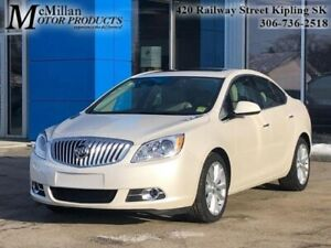 2016 Buick Verano Leather  LOW KMS,HEATED LEATHER SEATS,SUNROOF,