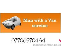 Man And Van (rubbish removal as well)