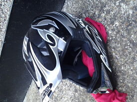 nitro racing motorbile helmet