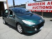2006 Peugeot 307 MY06 Upgrade XS HDI 1.6 Green 5 Speed Manual Hatchback West Perth Perth City Area Preview