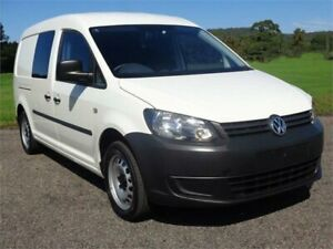 2015 Volkswagen Caddy 2KN MY15 TDI250 BlueMOTION White Sports Automatic Dual Clutch Van