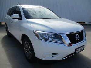 2014 Nissan Pathfinder Alpine White Constant Variable Ayr Burdekin Area Preview