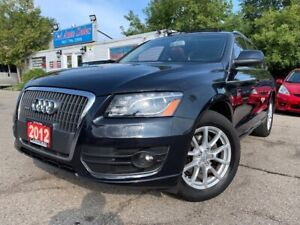 2012 Audi Q5 quattro 4dr 2.0L Premium Plus * LOW KMS*navi back