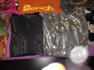 Lot of sweaters & tops from Suzy, Bench, Parasuco and others...