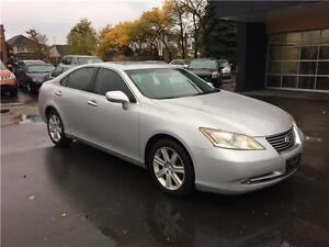 2008 Lexus ES 350, no accident, 149K, Cert. leather, sunroof,