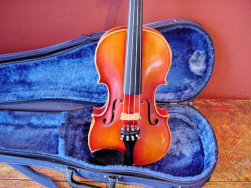 "VINTAGE MEISEL VIOLA 14""  SIZE with CASE"