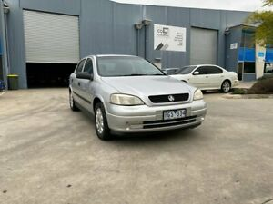 2004 Holden Astra TS City Silver 5 Speed Manual Hatchback Newport Hobsons Bay Area Preview