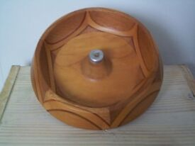 Unusual wooden bowl from New Zealand