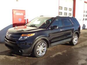 2013 Ford Explorer Limited AWD ~ 117,000km ~ Nav ~ SYNC~ $22,900