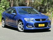 2016 Holden Commodore VF II MY16 SV6 Blue 6 Speed Sports Automatic Sedan Melrose Park Mitcham Area Preview