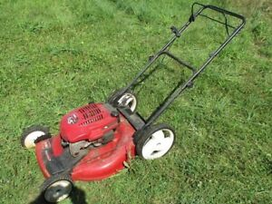 Toro recycler 6.5 hp lawn mower self propelled with bag/mulcher