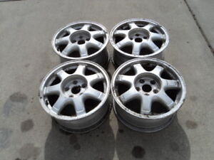 4 16 inch Alloy Rims for 1993-2005 Lexus GS300 Vehicles