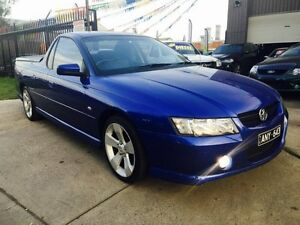 2006 Holden Commodore VZ MY06 S Thunder 4 Speed Automatic Utility Brooklyn Brimbank Area Preview