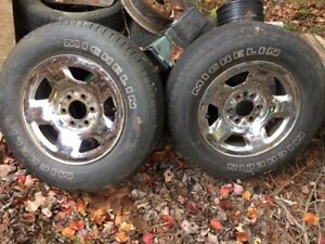 F150 Rims and Tires - Pair
