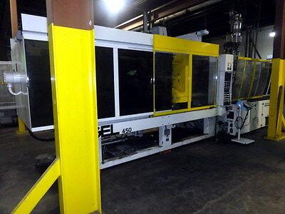 2002 450 Ton Engel Injection Molding Machine