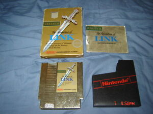 LEGEND OF ZELDA II ADVENTURE OF LINK NINTENDO NES COMPLET