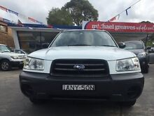 2003 Subaru Forester MY03 X White 4 Speed Automatic Wagon Sylvania Sutherland Area Preview