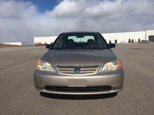 2002 Honda Civic DX-G | CERTIFIED | WARRANTY | AUTO LOCKS/WINDOW