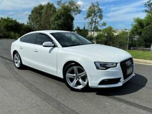 2013 Audi A5 8T MY13 Sport Edition Sportback Multitronic White 8 Speed Constant Variable Hatchback Darra Brisbane South West Preview