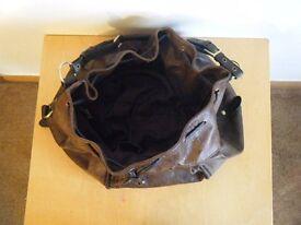 ** REDUCED IN PRICE ** Ladies NEXT dark brown mock leather bag