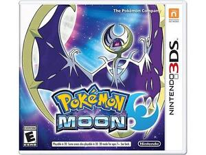 New Nintendo 3ds Pokeman Moon COMPLETE WITH INSTRUCTIONS