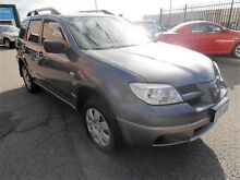 2005 Mitsubishi Outlander ZF MY06 Activ Grey 4 Speed Sports Automatic Wagon Wangara Wanneroo Area Preview