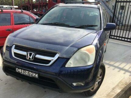 2002 Honda CR-V RD Sport Blue Automatic Wagon