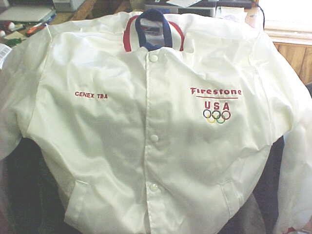 MW1 Vintage Firestone Cenex Made in the USA windbreaker jacket size M medium