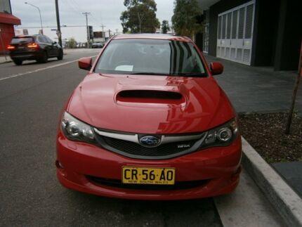 2008 Subaru Impreza MY08 WRX (AWD) 5 Speed Manual Hatchback Granville Parramatta Area Preview