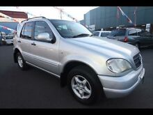 2000 Mercedes-Benz ML CLASSIC W163 Silver 5 Speed Kingsville Maribyrnong Area Preview