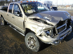 parting out 2005 dodge ram 2500