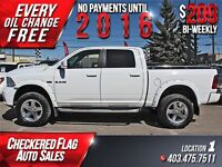 2010 Dodge Ram 1500 Sport W/ Heated Leather-Sunroof-4X4-Nav