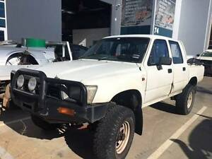 WRECKING - 1991 Toyota Hilux 4WD Dual Cab Manual Diesel Werribee Wyndham Area Preview
