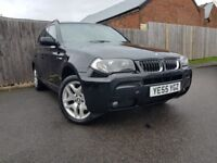 BMW X3 3.0 D M SPORT 5DR AUTOMATIC (black) 2006