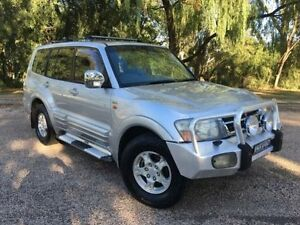 2002 Mitsubishi Pajero NM Exceed LWB (4x4) Silver 5 Speed Auto Sports Mode Wagon Coonamble Coonamble Area Preview