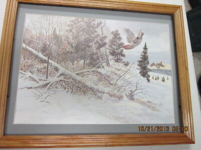 Other - Hunting Picture Framed