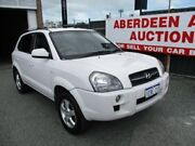2007 Hyundai Tucson MY07 City SX White 5 Speed Manual Wagon West Perth Perth City Area Preview