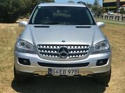 2005 Mercedes-Benz ML350 W163 MY04 Luxury Silver 5 Speed Sports Automatic Wagon Mile End South West Torrens Area Preview
