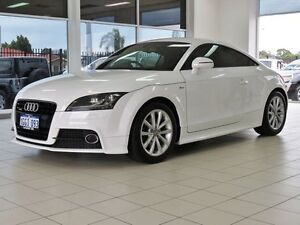 2012 Audi TT 8J MY12 2.0 TFSI Quattro Cool White 6 Speed Direct Shift Coupe Morley Bayswater Area Preview