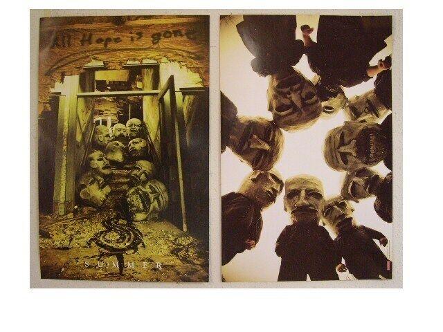 Slipknot Poster Mask Huddle All Hope Is Lost Promo